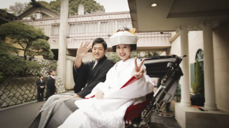2015.2 原宿東郷記念館での結婚式