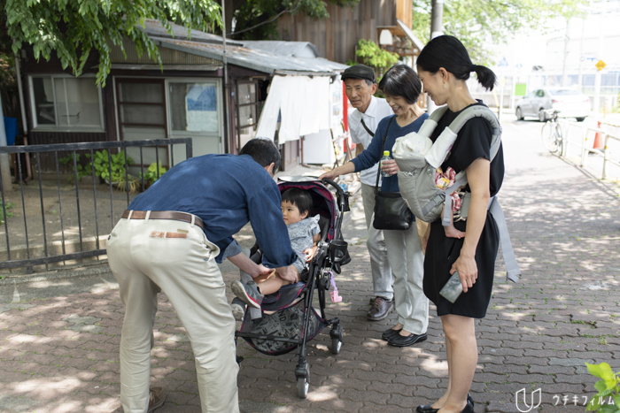 多摩川浅間神社でのお宮参り