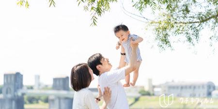 狛江市での1歳の誕生日記念