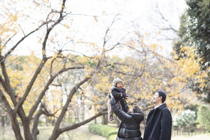 横浜市の公園で1歳の誕生日記念