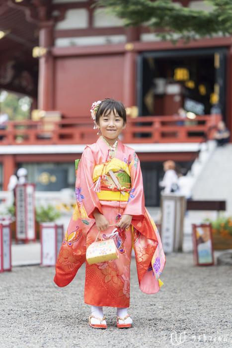 浅草神社での七五三