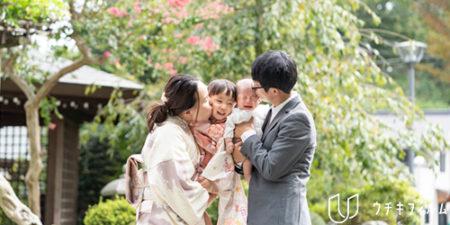 お宮参りと七五三の出張撮影 | ご自宅〜琴平神社 [photo]