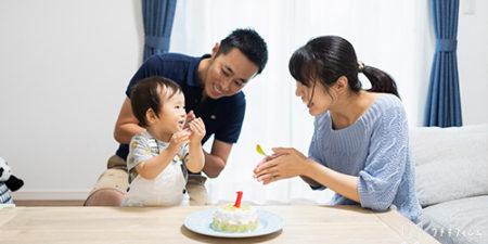 1歳お誕生日記念 | ご自宅への出張撮影 [photo]