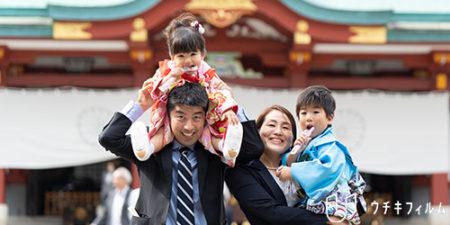 日枝神社での七五三