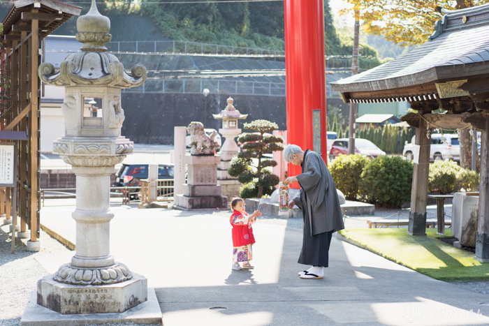 琴平神社での七五三出張撮影