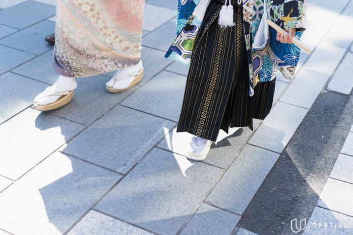 鶴岡八幡宮での七五三出張撮影