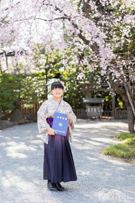 伊勢山皇大神宮での成人と中学卒業のお祝いの出張撮影